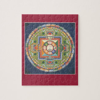 PUZZLE IN TIN - Mandala Buddha of Compassion