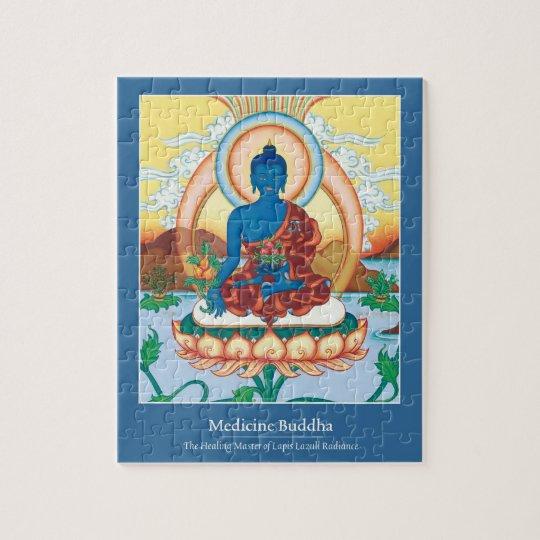 PUZZLE IN TIN -Medicine Buddha - Master of Healing