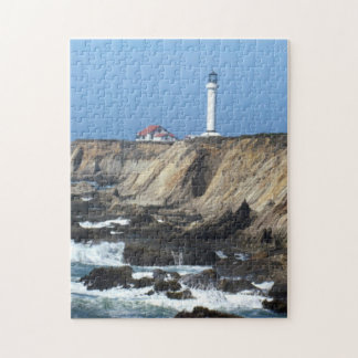 Puzzle - Lighthouse on Cliff