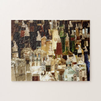 Puzzle- Liquor Bottles Jigsaw Puzzle