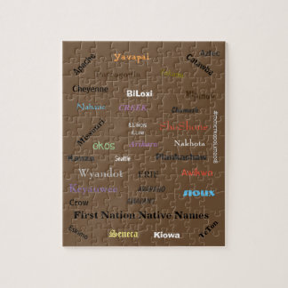 Puzzle of First Nation Names,  FUN COLLECTION