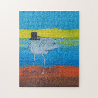 Puzzle of the Leader of the Seagulls.