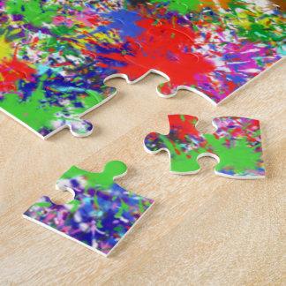 Puzzle - Paint Splatters One