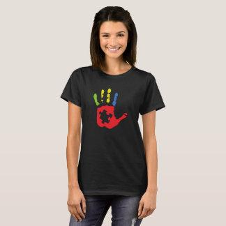 Puzzle Piece Spectrum Logo T-Shirt