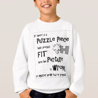 Puzzle Piece Thinkers Sweater