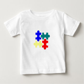 Puzzle Pieces Baby T-Shirt