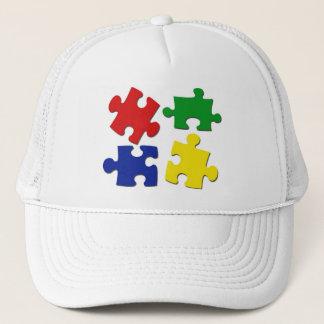 Puzzle Pieces Hat