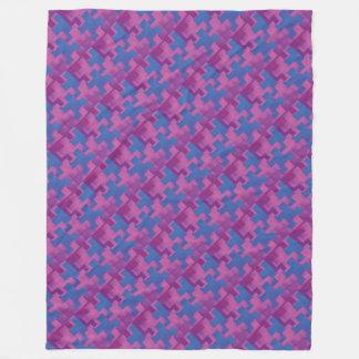 Puzzle Pieces POB Fleece Blanket