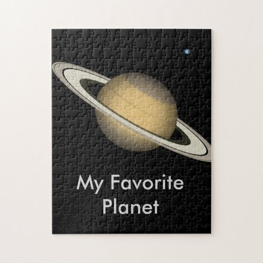 PUZZLE - Saturn - My Favourite Planet