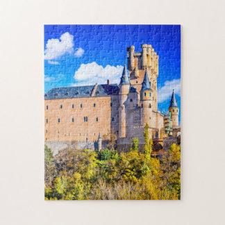 Puzzle Segovia castle