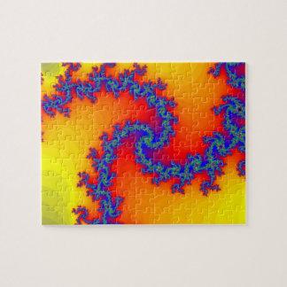Puzzle: Spiral Fractal Design Jigsaw Puzzle