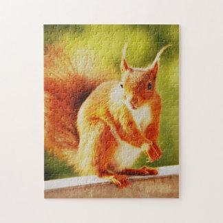 PUZZLE Squirrel - photo: Jean Louis Glineur
