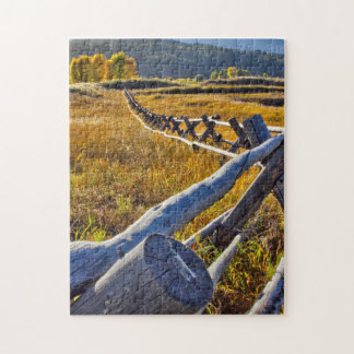 Puzzle, Star Valley Wyoming, autumn colors Jigsaw Puzzle