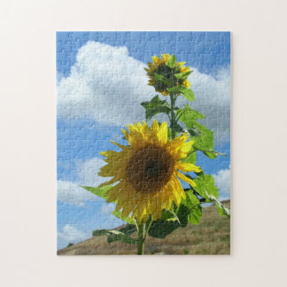 Puzzle - Sunflower on a hill v.2