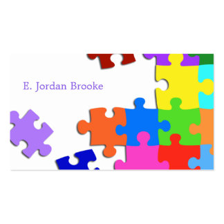 Puzzle V2 Business Card