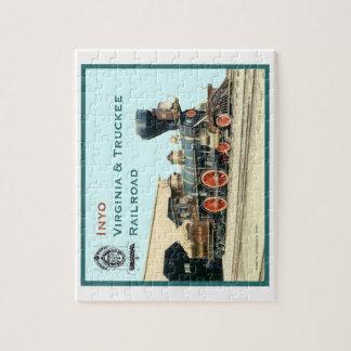 puzzle - V&T Railroad engine Inyo