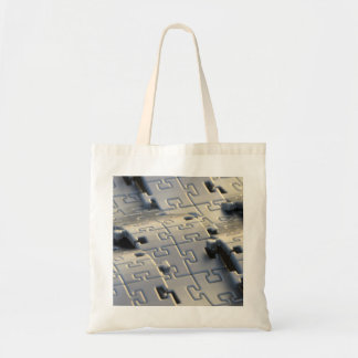 Puzzle Waves Tote Bag