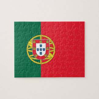 Puzzle with Flag of Portugal