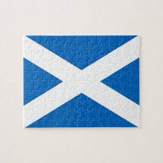 Puzzle with Flag of Scotland