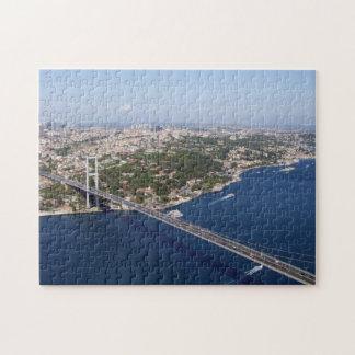 Puzzle with Gift Box: 1.Bosphorus Bridge, Istanbul