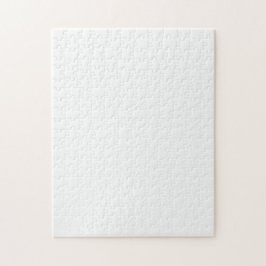 Puzzle with White Background