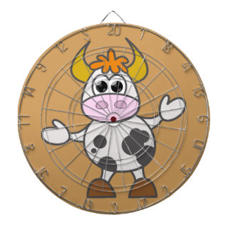 Puzzled Cow Dartboard