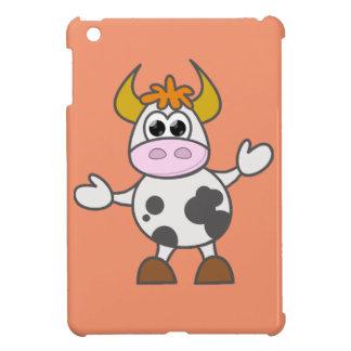 Puzzled Cow iPad Mini Cases