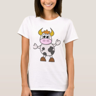Puzzled Cow T-Shirt
