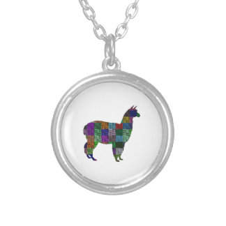 Puzzled One Silver Plated Necklace
