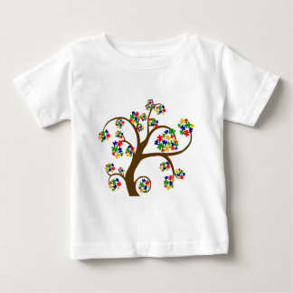 Puzzled Tree of Life Baby T-Shirt