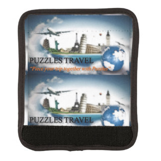 Puzzles Travel Luggage Handle Cover Luggage Handle Wrap