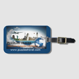 Puzzles Travel Luggage Tag