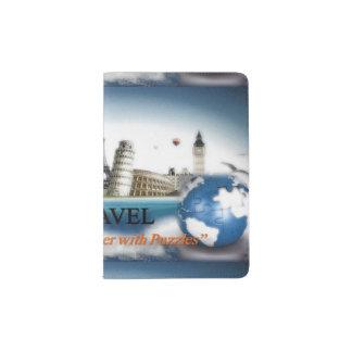 Puzzles Travel Passport Holder