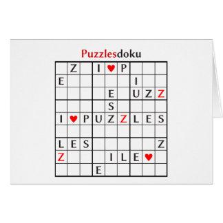 puzzlesdoku card