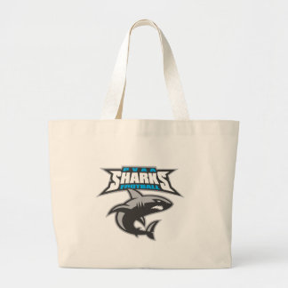 PVAA Sharks Large Tote Bag