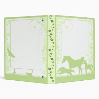 PWD Avery Binder - lime