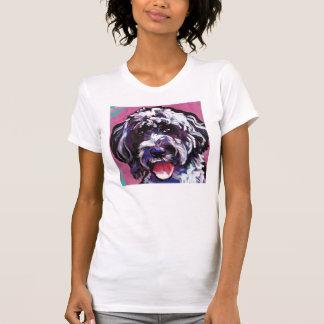 pwd Portuguese water dog pop dog art T-Shirt