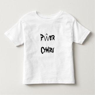 Pŵer Cymru, Welsh Power in Welsh Toddler T-shirt