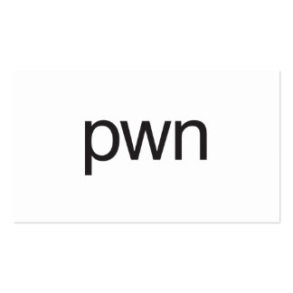 pwn business card templates