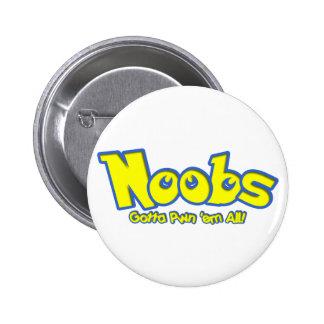 Pwn Noobs 2 Inch Round Button