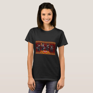 Pxielfield Game | Mariachi Skeletons T-shirt