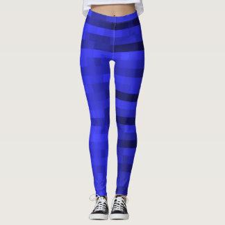 PXL Pattern Blue Leggings