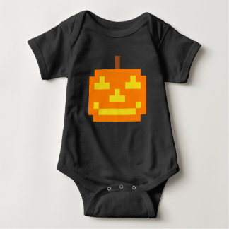 PXL Simple Jack O' Lantern Baby Bodysuit