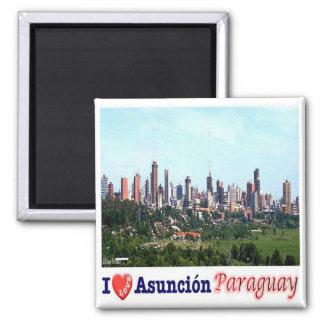 PY - Paraguay - Asunción I Love Magnet