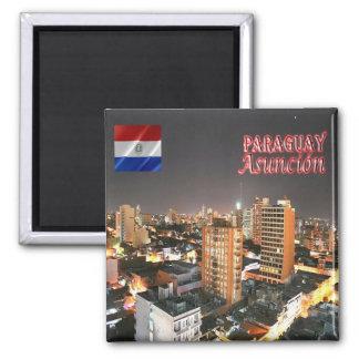 PY - Paraguay - Asunción Magnet
