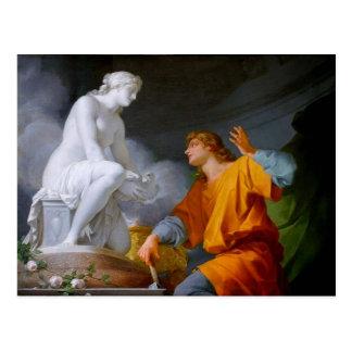 Pygmalión (Greek Mythology - Galathea) ~ Postcard