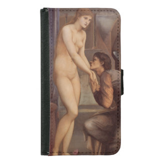Pygmalion the Image by Edward Burne-Jones Samsung Galaxy S5 Wallet Case