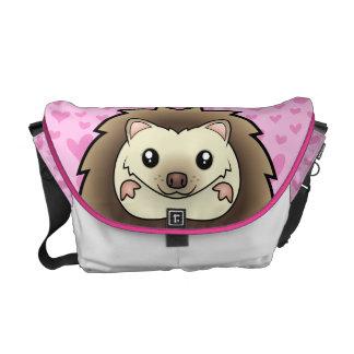 Pygmy Hedgehog Love Courier Bag