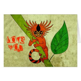 Pygmy Marmoset Card