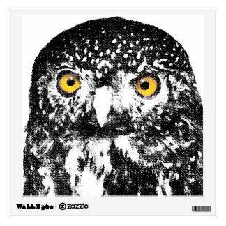 Pygmy Owl Wall Decal